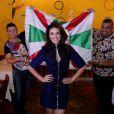 Paloma Bernardi é apresentada como nova Rainha da bateria da Escola de Samba Grande Rio, na Churrascaria Porcão, na Barra da Tijuca, Zona Oeste do Rio de Janeiro