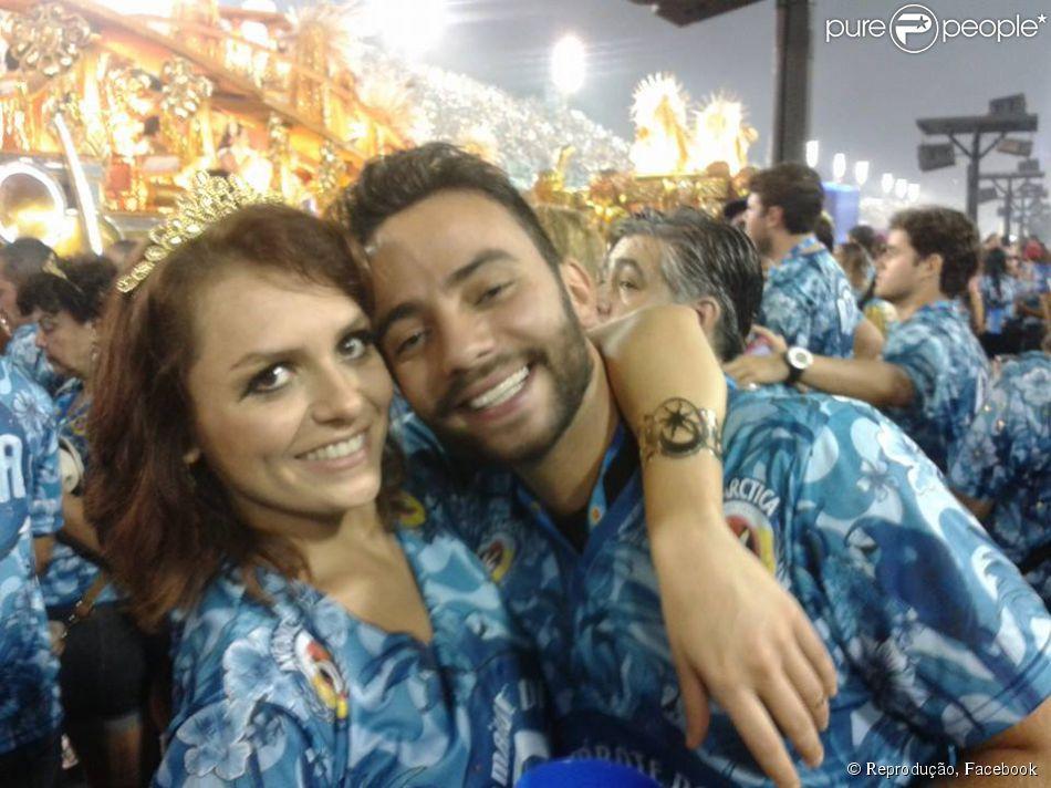 Iozzi assumiu recentemente o namoro com o produtor do 'CQC', Felipe Atra