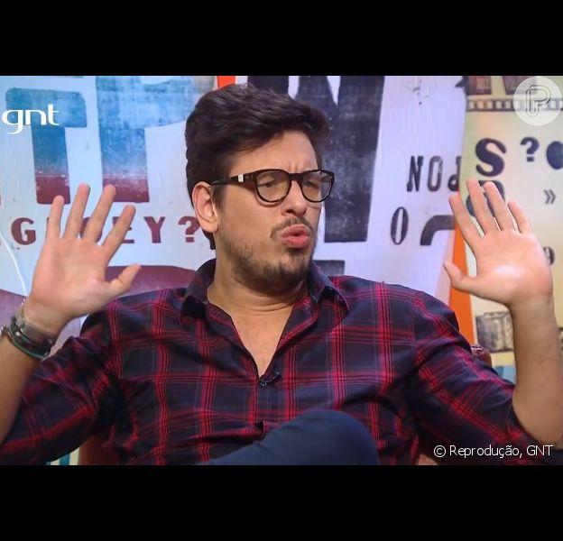 João Vicente de Castro comentou sobre relacionamentos e elogiou Sabrina Sato durante o 'Papo de Segunda', do GNT, exibido na segunda, dia 22 de junho de 2015