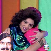 Monica Iozzi conta para Regina Duarte: 'Quis ser atriz por causa da Porcina'
