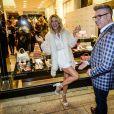 Giovanna Ewbank apostou em um conjunto de short e blusa com transperência para ir a evento de moda em São Paulo, na noite desta quarta-feira, 24 de junho de 2015