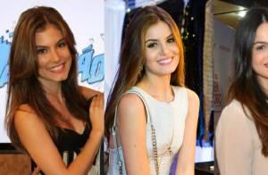 Camila Queiroz comenta semelhança física com Bruna Hamú: 'Ela é linda. Sou fã!'