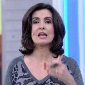 Fátima Bernardes se atrapalha ao falar da morte de Cristiano Araújo. Veja gafes!