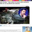 Morte de Cristiano Araújo ganha repercussão internacional
