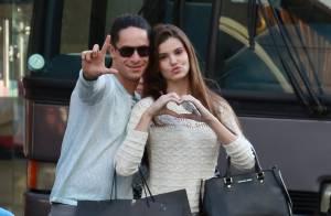 Camila Queiroz e Rainer Cadete brincam nos bastidores de 'Verdades Secretas'