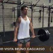 'Esquenta!':Bruno Gagliasso exibe rotina de crossfit e visita morro da Babilônia