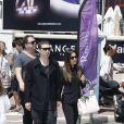 Em maio, o casal esteve no festival de cinema em Paris, em Cannes