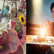 Mariana Rios recebe flores da mãe de Di Ferrero após fim de noivado