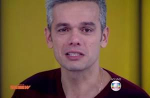 Dia dos Pais: Otaviano Costa chora com homenagem de Olívia e Giulia Costa na TV