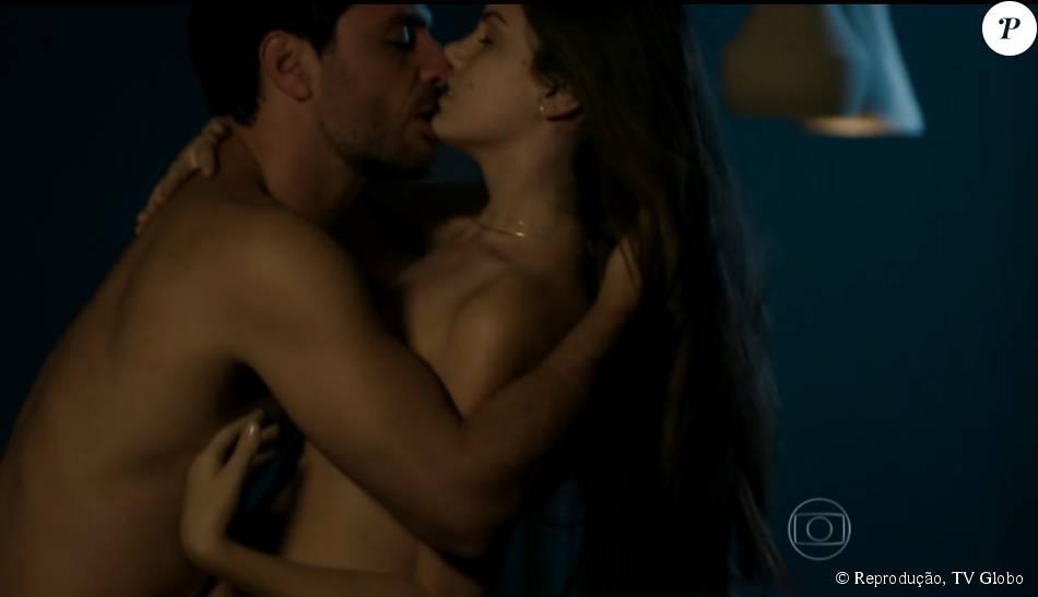 'Verdades Secretas': cena de sexo da volta do casal Angel e Alex empolga público, nesta sexta-feira, 7 de agosto de 2015