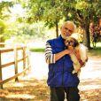 Recentemente, Francisco Cuoco participou do quadro 'Cachorrada VIP', do 'Domingão do Faustão'