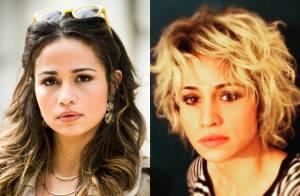 Nanda Costa muda visual e aparece com os cabelos curtos e loiros