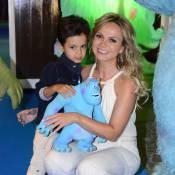 Eliana comemora aniversário de 4 anos do filho, Arthur, em São Paulo