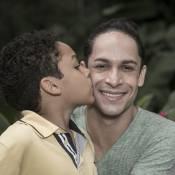 No Dia dos Pais, Rainer Cadete conta que filho de 8 anos aceita Visky