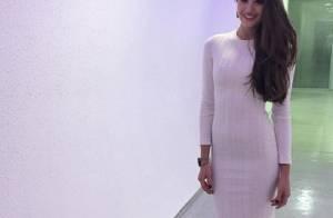 Look de Camila Queiroz no 'Domingão do Faustão' custa R$ 11.650. Veja grifes!