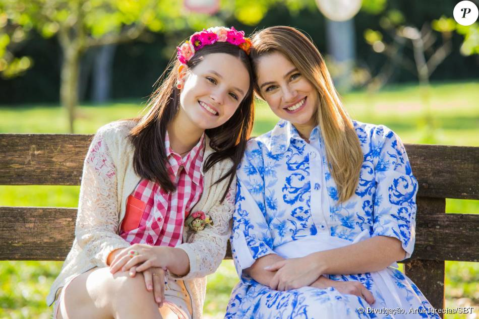 Larissa Manoela e Juliana Baroni estrelam o clipe  Contigo Sempre , na  novela   afb3fd9962