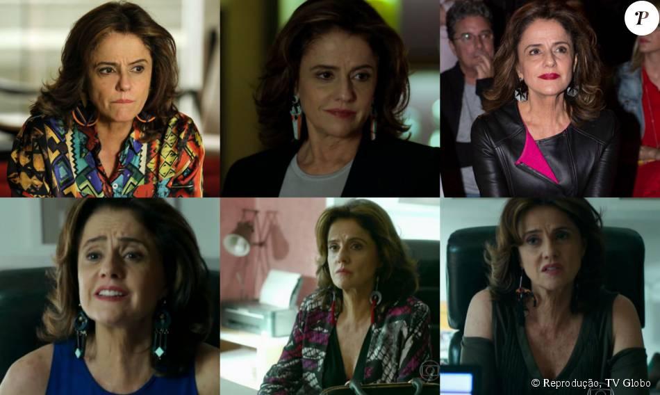 Fanny Richard, personagem de Marieta Severo na novela 'Verdades Secretas', adora maxibrincos