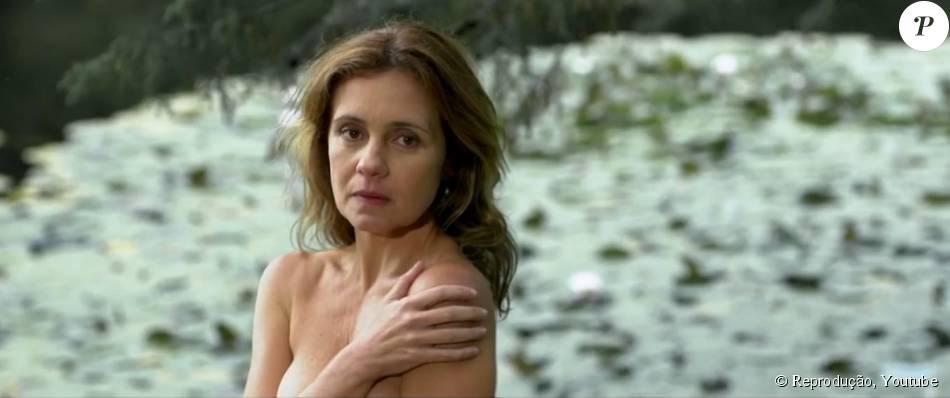 Adriana Esteves faz cenas de nu frontal pela primeira vez no filme 'Real Beleza' e diz que as pessoas estão caretas por repercutir o tema