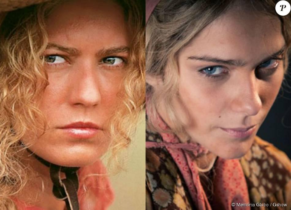 b2efadebc4 Isabella Santoni posa caracterizada de Luana, personagem vivida por  Patricia Pillar na novela 'O