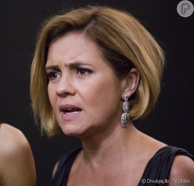 Inês (Adriana Esteves) será a principal suspeita de ser a assassina de Murilo (Bruno Gagliasso), na novela 'Babilônia', que termina em 28 de agosto de 2015