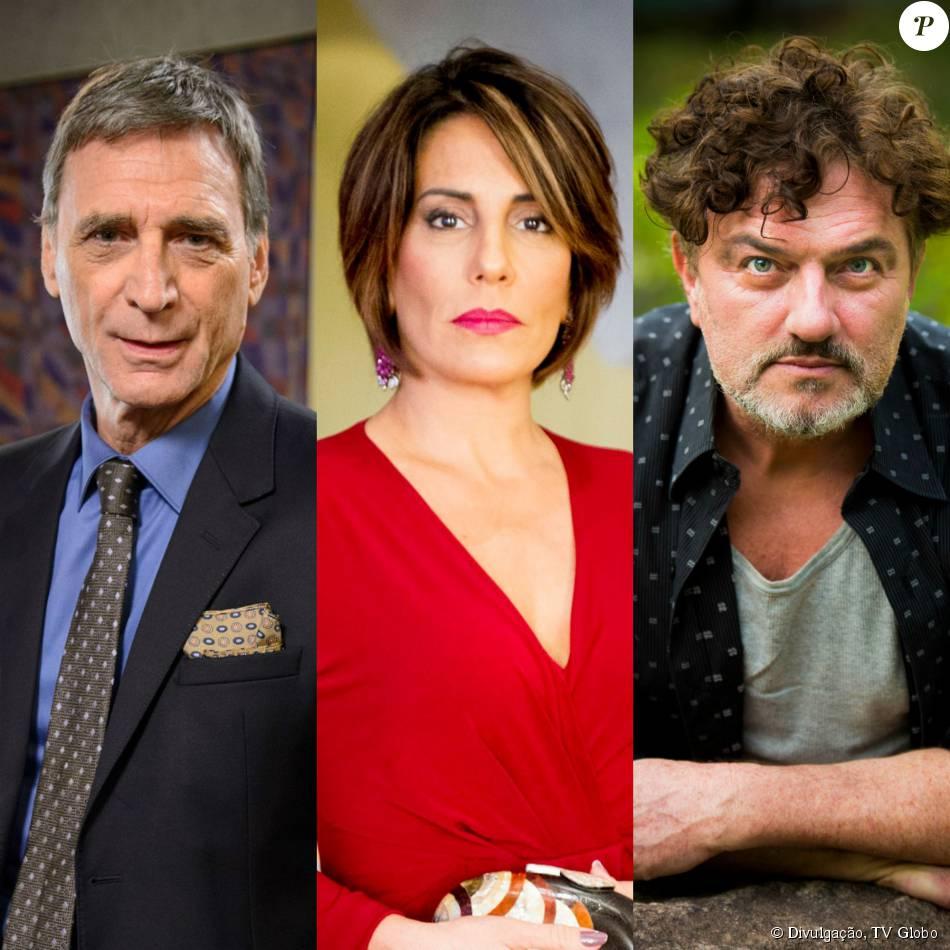 Beatriz (Gloria Pires) se casa com Otávio (Herson Capri), mas seduz Osvaldo (Werner Schünemann) e arma com ele contra o novo marido, na última semana da novela 'Babilônia', a partir de 24 de agosto de 2015
