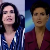 Fátima Bernardes guarda paletó usado em estreia no 'JN': 'Coisa simbólica'