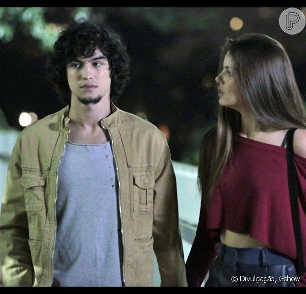Nos próximos capítulos de 'Verdades Secretas', Gui vai descobrir que Angel e Alex tiveram um caso no passado
