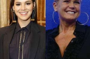 Bruna Marquezine parabeniza Xuxa por estreia na Record: 'Te amo! Muito orgulho'