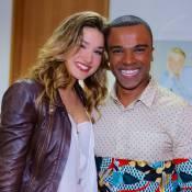 Alexandre Pires registra reencontro com Sasha após 10 anos: 'Carreguei no colo'