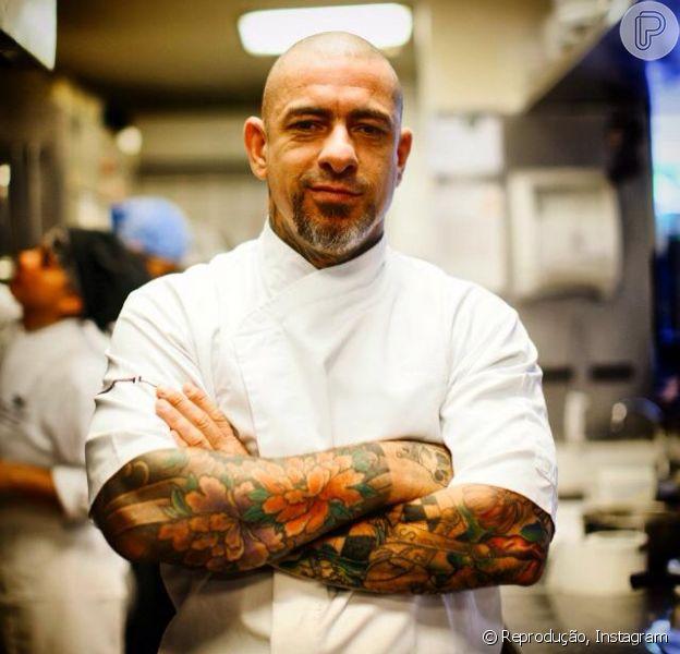 Henrique Fogaça se destaca com um dos jurados do 'MasterChef Brasil'. Chef terá sua vida contada no reality '200 Graus': 'Vão mostrar a família, moto, restaurante, esporte, a feira. Faço um monte de coisa'