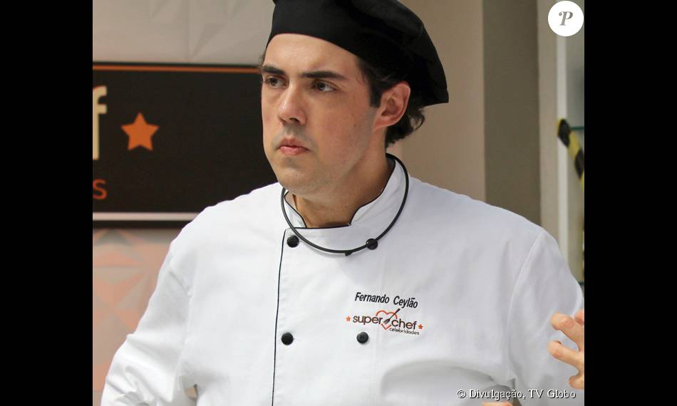 Fernando Ceylão deixou o 'Super Chef Celebridades', quadro exibido no 'Mais Você', ao ter rejeição de 66% dos votos, nesta sexta-feira, 21 de agosto de 2015