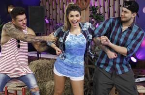 Lucas Lucco brinca com Ana Paula Guedes, do 'Dança dos Famosos': 'Não me liga'