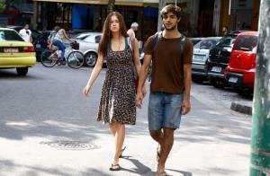 Marina Ruy Barbosa e Felipe Simas gravam cenas de 'Totalmente Demais'