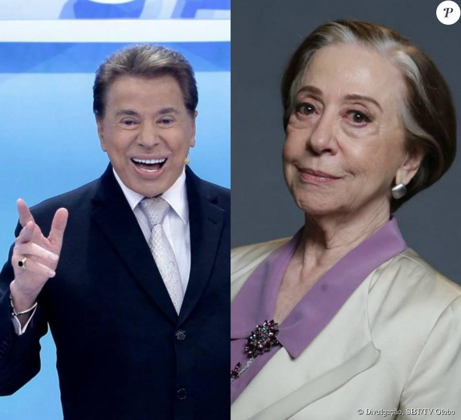 Silvio Santos e Fernanda Montenegro foram eleitos os famosos que melhor envelhecem em pesquisa feita a pedido de laboratório, com 989 pessoas nas cinco regiões do Brasil