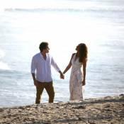 Camila Pitanga e Thiago Fragoso gravam cena final de 'Babilônia' na praia