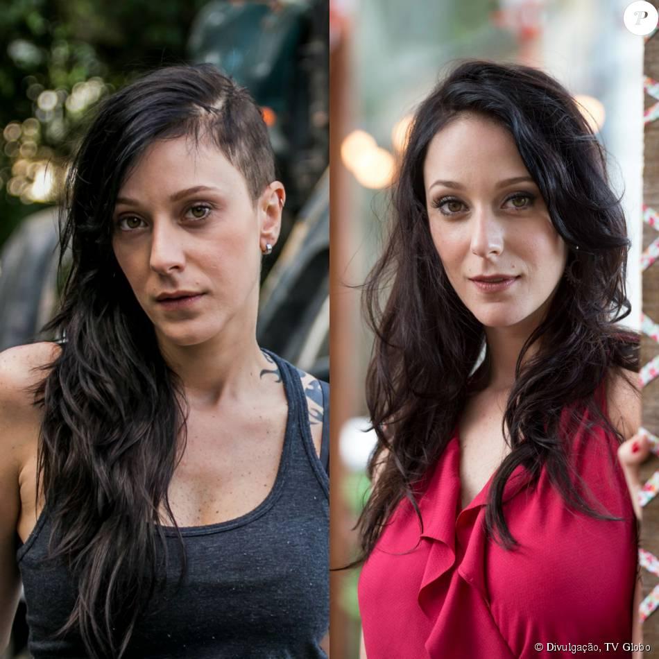 Ximena sai da favela e adota novo visual na novela 'I Love Paraisópolis', Caroline Abras comenta a transformação da personagem em conversa com o Purepeople, em 27 de agosto de 2015