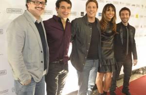 Sabrina Sato e elenco de 'O Concurso' lançam filme em São Paulo
