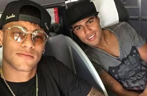 Neymar se apresenta à Seleção brasileira e comenta punição: 'Serviu de lição'