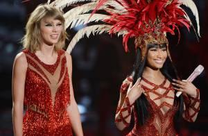 Após discussão no Twitter, Taylor Swift e Nicki Minaj cantam juntas no VMA