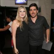 Dani Calabresa lança filme e é prestigiada por Marcelo Adnet e Mariana Ximenes