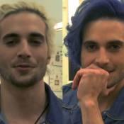 Fiuk aparece com o cabelo pintado de azul no 'Mais Você': 'Ficou sensacional'