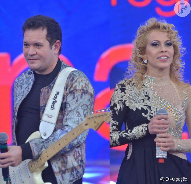 """Fãs de Joelma chamaram Chimbinha de """"safado"""" durante show da banda Calypso no domingo, 30 de agosto de 2015"""