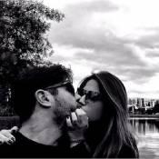 Grávida, filha do cantor Leonardo posta foto beijando Sandro Pedroso: 'Te amo'