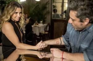 Novela 'A Regra do Jogo': Atena conhece Romero e arma golpe para roubá-lo