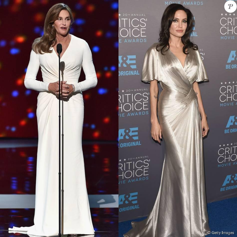 Caitlyn Jenner diz que Angelina Jolie é inspiração para seus looks: 'Elegante'