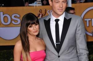 Lea Michele soube da morte de Cory Monteith por telefone e não sabia de recaída