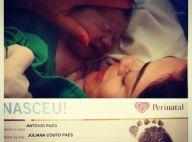 Marido de Juliana Paes fala sobre filho: 'Parece com Pedro'. Veja rosto do bebê