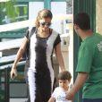 Durante a gestação, Juliana Paes fez questão de participar das atividades do primogênito, Pedro, de dois anos