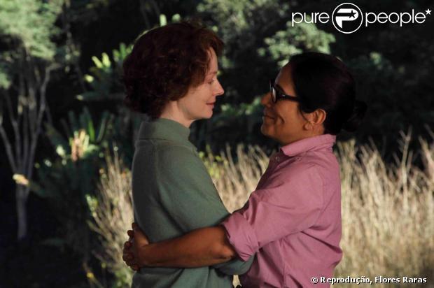 Gloria Pires e Miranda Otto vivem casal homossexual em 'Flores Raras'