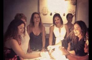 Daniela Mercury e Malu Verçosa comemoram aniversário com festa em Salvador